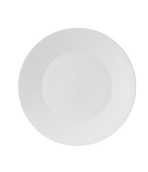 "Jasper Conran Plate 13"" dia., round, charger, dishwasher safe, bone china, white"