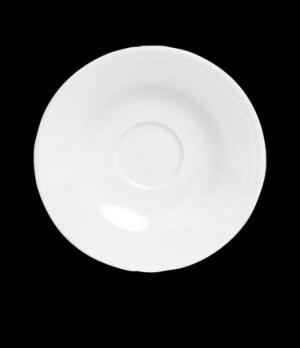 "AD Cup Saucer, 5"" dia., round, porcelain, Rene Ozorio Virtuoso (USA stock item)"