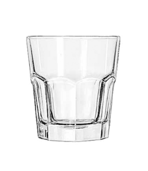 "Rocks Glass, 10 oz., DuraTuff®, GIBRALTAR®, (H 3-7/8""; T 3-1/2""; B 2-1/2""; D 3-1"