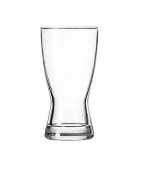 "Pilsner Glass, 9 oz., Safedge® Rim guarantee, Hourglass Design, (H 5-3/8""; T 2-3"