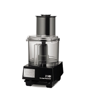 "Food Processor, 2.5 qt., vertical chute feed design, LiquiLockâ""¢ Seal System, h"