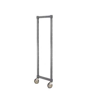 "Camshelving® Elements Post Kit, for mobile unit, 21""W x 78""H with casters (CASTE"