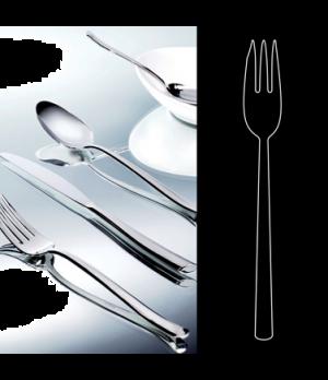 "Cake Fork, 6"", stainless steel, La Tavola, Yuki (USA stock item) (minimum = case"