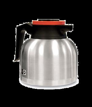 40163.0001 Economy Thermal Carafe, 1.9 liter (64 oz.), brew-thru lid, vacuum ins