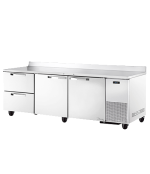Spec Series Deep Work Top Refrigerator, three-section, SPEC Package 1 includes: