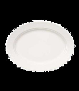 """Pickle Dish/Plate, 8-1/4"""" x 6-3/4"""", oval, premium porcelain, Bella (DE Stock)"""