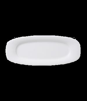 "Platter, 11-3/4"" x 4-3/4"", oval, premium porcelain, Affinity"