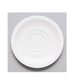 "Saucer, 5-1/8"", (cup OCR's -1437, -1450/51), premium porcelain, Easy White"