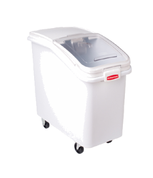 "ProSave® Ingredient Bin, mobile, 3-1/2 cu. ft., 29-1/2""W x 15-1/2""D x 28""H, slan"