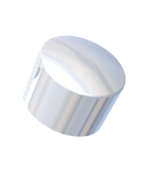 Cap Only, for whipped cream dispenser, for stainless steel heads, chrome