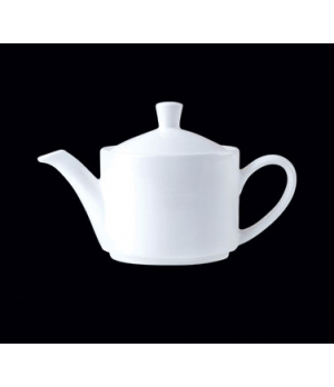 Teapot, 15 oz., Lid 2, Distinction, Monaco, Monaco White (priced per case, packe