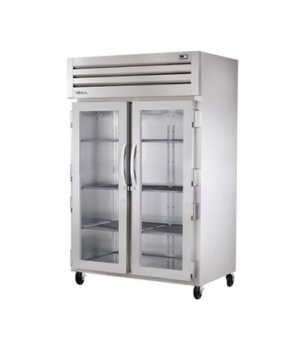 SPEC SERIES® Reach-In Heated Cabinet, two section, stainless steel front & sides