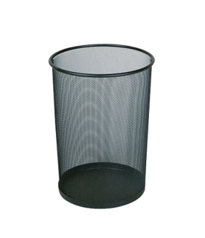"Concept Collection™ Steel Wastebasket, 5 gallon, 11-1/2"" dia. x 14"" H, open top,"