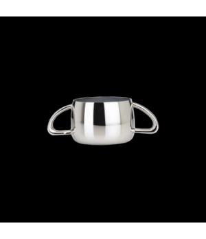 Sugar Bowl, 9 oz., with handles, 18/10 stainless steel, WNK, Kamina (USA stock i