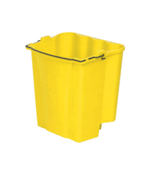 Dirty Water Bucket, for WaveBrake® combos, 18 qt. capacity, yellow