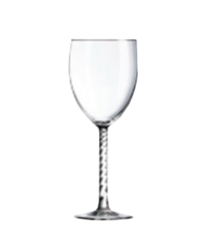"Wine Glass, 8-1/2 oz., glass, Marque Du Client, Angelique, (H 7-9/16""; M 2-11/16"