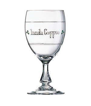 "Wine Glass, 8 oz., glass, Arcoroc, Touraine, (H 5-7/8""; M 2-3/4"")"