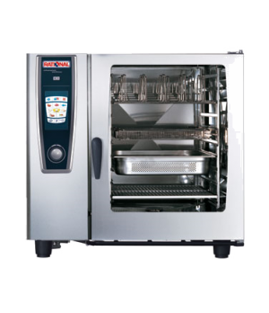 """(SCC WE 102G) SelfCooking Center® WhiteEfficiency®, gas, full size, (10) 18"""" x 2"""