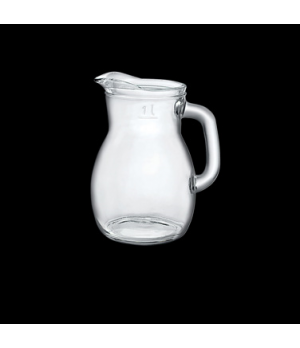 Pitcher, 10-1/8 oz., with pour line at 8-1/2 oz., Bormioli, Bistrot (USA stock i