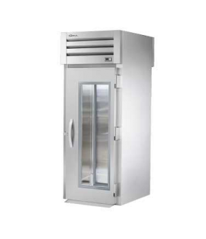 SPEC SERIES® Roll-thru Refrigerator, stainless steel front & sides, (1) glass do