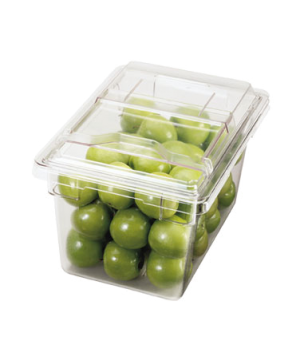 """Camwear® SlidingLid™, for food storage container, 12"""" x 18"""", clear, polycarbonat"""