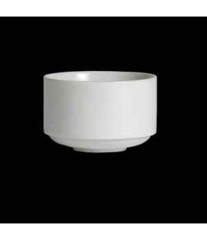 "Bouillon Cup, 11-1/4 oz., 4"" dia., round, porcelain, Rene Ozorio Concerto (Canad"