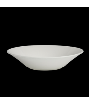 "Serving Bowl, 53 oz., 11"" dia. x 2-7/16""H, round, large, flared, porcelain, Vari"