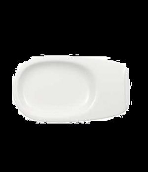 "Saucer, 8-1/4"" x 4-3/4"", (order OCR 1520), premium porcelain, Urban Nature"