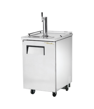 Draft Beer Cooler, (1) 1/2 barrel capacity, stainless steel counter top, stainle