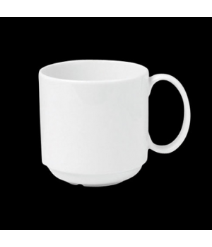 "Mug, 10 oz., 4-1/2""W x 3-1/2""H, stackable, porcelain, Tria, Simple Plus (minimum"
