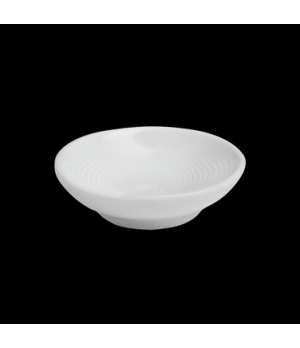 "Butter Dish, 2-3/4"" dia., round, porcelain, Tria, Wish (minimum = case quantity)"