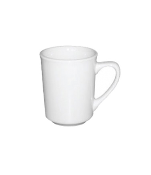 Mug, 11 oz (325mL), large, C-handle, microwave and dishwasher safe, white, Pure