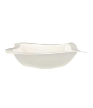 "Salad Bowl, 13"" x 13"", 123 oz., premium porcelain, New Wave"