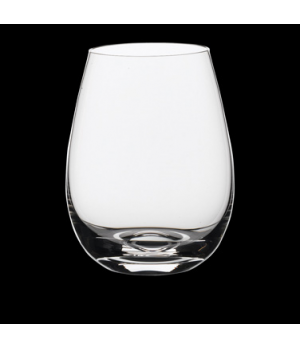 Bordeaux Glass, 15-1/2 oz., Rona, Stemless (USA stock item) (minimum = case quan