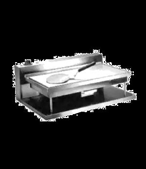 "Portable Compact Griddle, electric, 11"" x 21-1/4"" x 3/8"" thick cast aluminum gri"