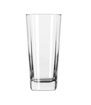 Cooler Glass, 16 oz., square base, Quartet