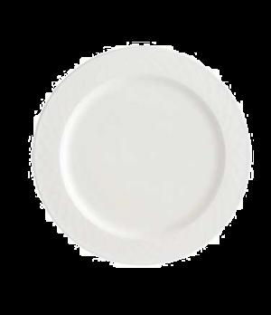 """Platter, 12-5/8"""", round, premium porcelain, Bella"""