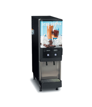 37900.0008 JDF-2S Silver Series® 2-Flavor Cold Beverage System, (4) 5 oz. drinks