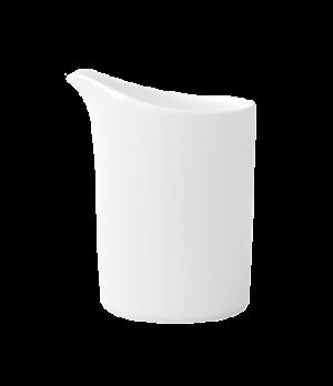 Creamer, 7 oz., premium bone porcelain, Modern Grace