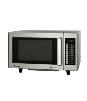 Amana® Commercial Microwave Oven, 0.8 cu. ft. capacity, 1000 watts, low volume,