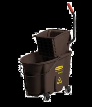 WaveBrake® Mopping Combo Pack, 7570 mop bucket; 6127-01 wringer, non-marking cas