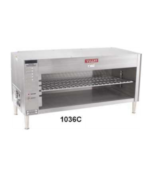 "Cheesemelter, Countertop, Electric, 3.6 KW, four rack positions, 36-1/2"" long, s"
