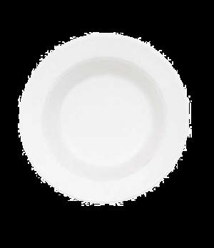 "Rim Soup Plate, 9"", 13 oz., deep, premium porcelain, Corpo White"