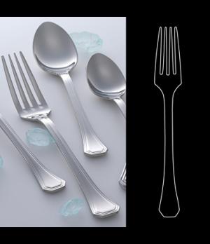 "Salad/Dessert Fork, 7-1/8"", 18/10 stainless steel, WNK, Deluxe (USA stock item)"