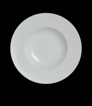 """Banquet Pasta/Soup Bowl, 8 oz., 9"""" dia., round, rimmed, porcelain, Sonata, Rene"""