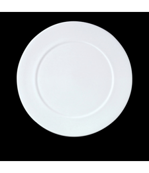 "Presentation Plate, 12"" dia., round, vitrified china, Performance, Simplicity, C"