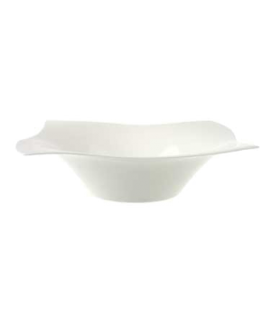 "Salad Bowl, 11-3/8"" x 11-3/8"", 27 oz., premium bone porcelain, New Wave Premium"