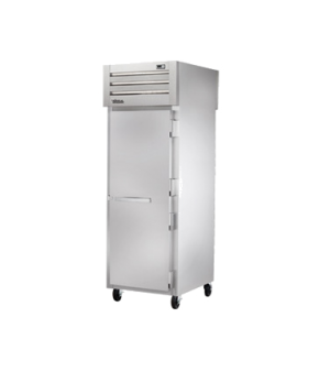 SPEC SERIES® Pass-thru Freezer, one-section, stainless steel front & sides, (1)