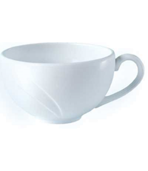 Cup, 8 oz., low, Distinction, Alvo, Alvo White (USA stock item) (minimum = case