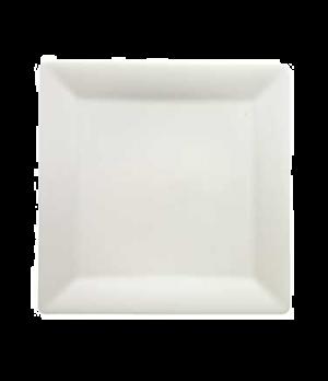 "Buffet Plate, 12-5/8"" x 12-5/8"", premium porcelain, Pi Carre"